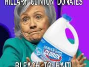 Clinton Foundation Donates Server Wipe