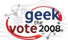 Geek The Vote 2008