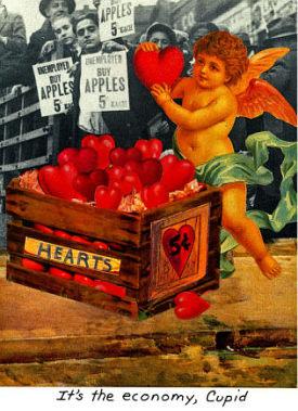 It's the economy, Cupid. carascissoria.com