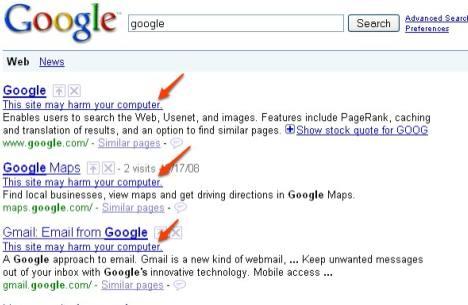 google-may-harm-computer