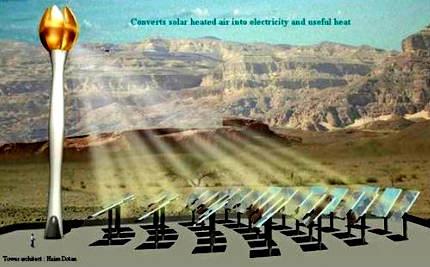 first solar gas hybrid turbine power station
