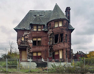 The Ruins of Detroit. Yves Marchand & Romain Meffre.