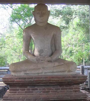 D.J. Mitchell photo: Buddha in Anuradhapura