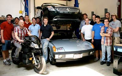 MIT electric vehicle