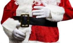 Rumor has it the Fat Police have ordered Santa Claus to lose the flab or face furlough