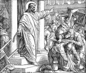 jesus money changers temple