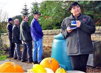 national trust pee compost