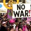 antiwar protest