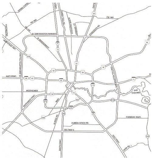 Houston. A classic doughnut city.