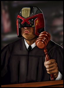 The judge will be watching
