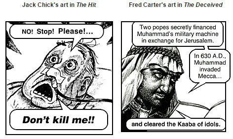 Chick Publications anti-Catholic ranting