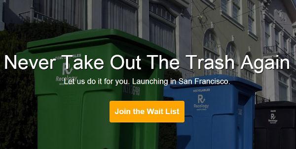 Trash Day website