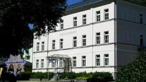 Der Polizeiposten in Bad Elster