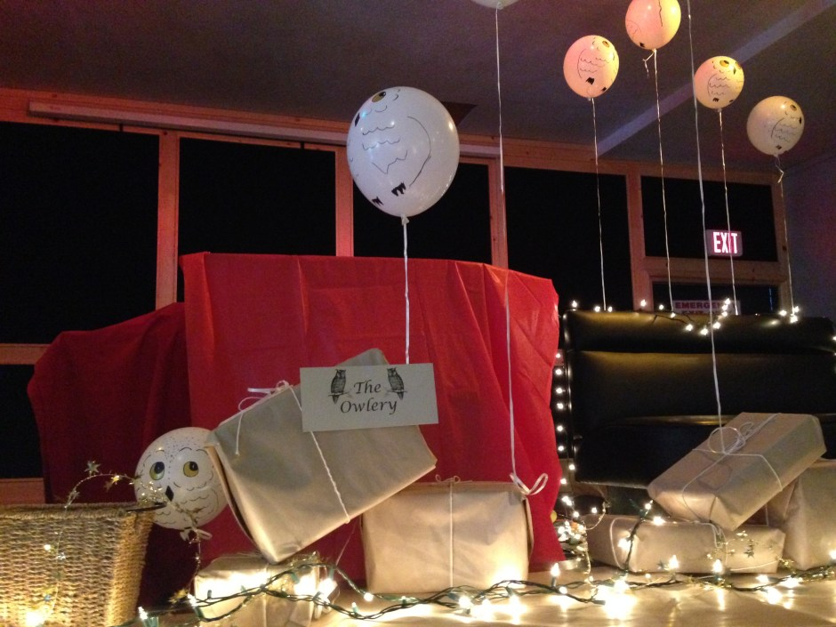 The Owlery, Hogwarts, DIY, Harry Potter Party, Hogwarts Party