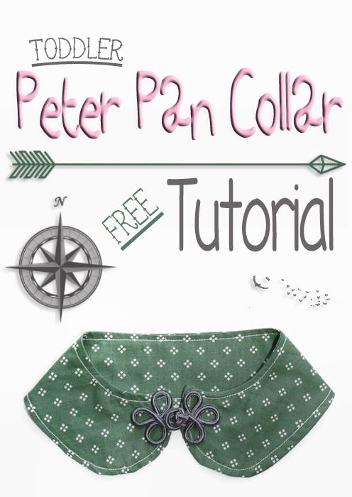 DIY Peter Pan Collar Tutorial