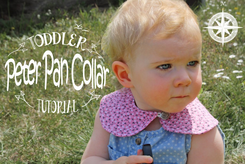 Toddler Peter Pan Collar, Free Tutorial