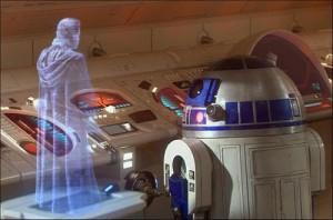 star wars hologram
