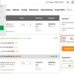Mã giảm giá Coupon gia hạn tên miền & hosting tại Godaddy