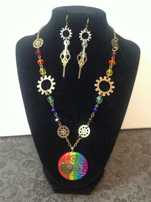 raindbownecklace