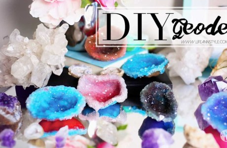 Geodes with Polymer Clay