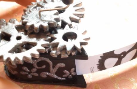 Polymer Clay Gears