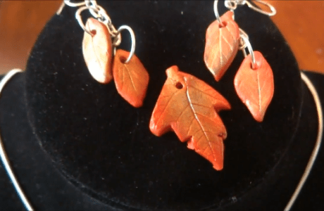 Make Leaves from Polymer Clay