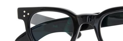 The Spectacle 1950s-70s TART OPTICAL FDR (FRAME USA) BLACK 44-24
