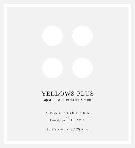 yellows-plus_2018ss-exhibision_sample3