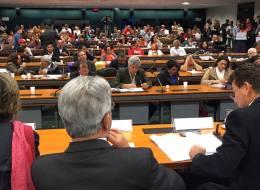 Reunião da Comissão dos Direitos Humanos  da Câmara dos Deputados