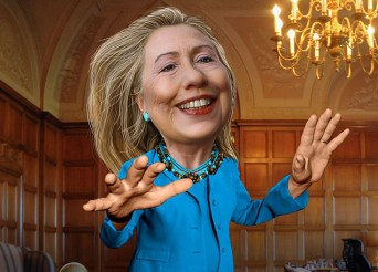 Image Source: DonkeyHotey, Flickr, Creative Commons Hillary Clinton - Caricature