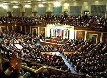 """White House photo by Susan Sterner - President Delivers """"State of the Union"""", Public Domain, Via Wikimedia Commons"""