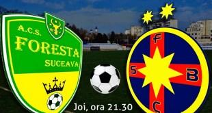Foresta Suceava - Steaua Bucureşti