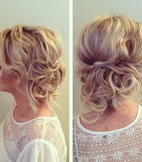 27 super trendy updo ideas for medium length hair crazyforus messy updo hairstyle casual everyday hairstyle for medium hair pmusecretfo Choice Image