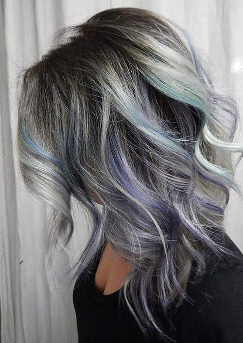 10 Pretty Pastel Hair Color Ideas With Blonde Silver Purple And Pink Highlights Crazyforus