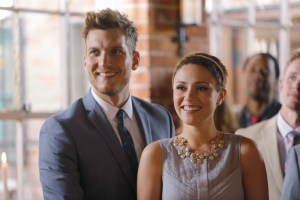 "CHASING LIFE - ""A View from the Ledge"" - Season two of ""Chasing Life"" picks up moments after Leo's surprising marriage proposal. April will try to live life to the fullest despite her recent relapse. From wedding dress shopping to a surprise trip, and a bachelorette party ending in jail time, April is determined to enjoy everything. The rest of the Carver family must deal with the effects of April's illness and choices as the medical bills start to mount up. Meanwhile, questions arise about a mystery surrounding their father's death. ""Chasing Life"" premieres on Monday, July 6th at 10:00PM-11:00PM ET/PT."" (ABC Family/Tony Rivetti) SCOTT MICHAEL FOSTER, ITALIA RICCI"