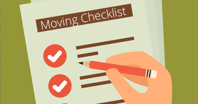 free apartment moving checklist