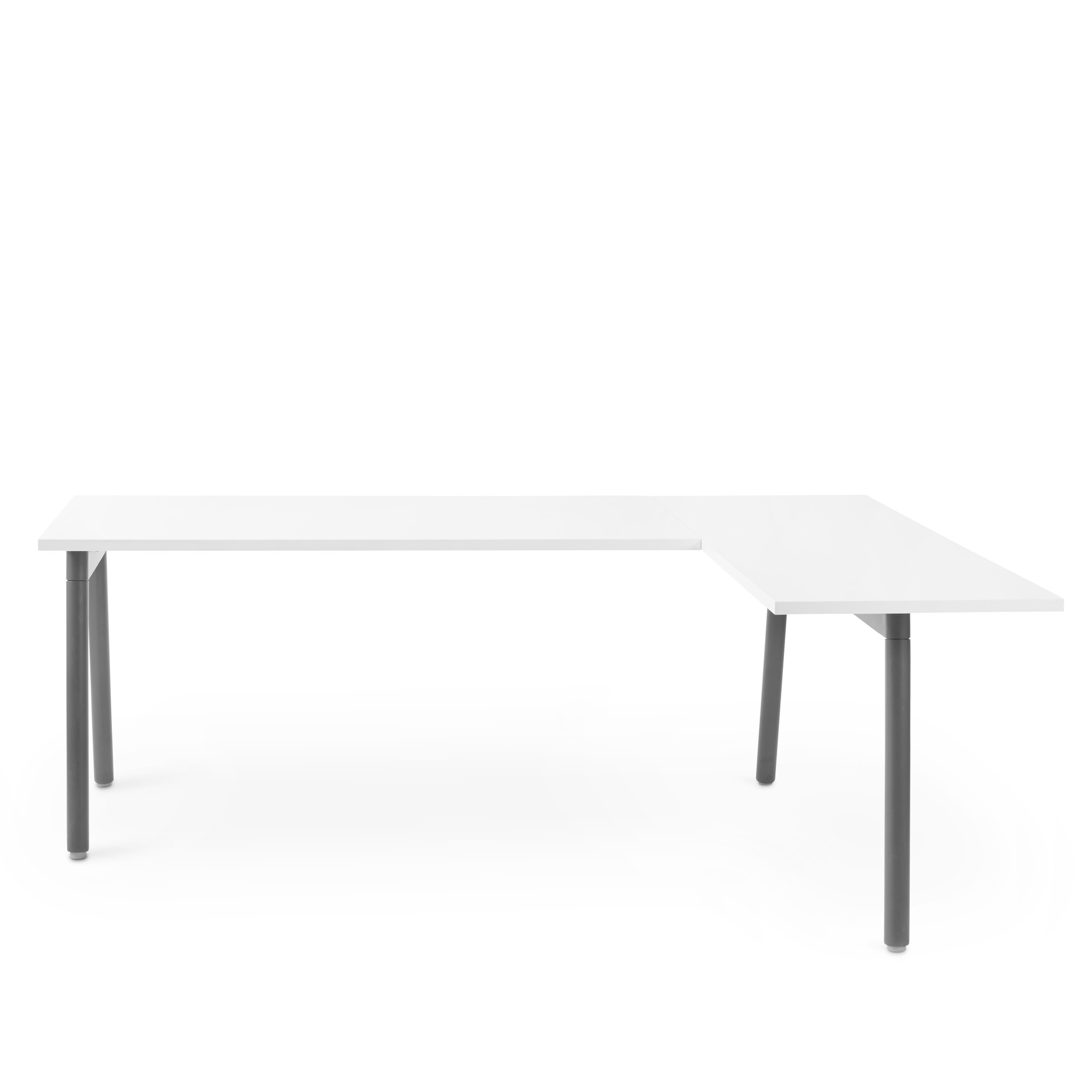 Idyllic Series A Charcoal Right L Shaped Desks Gaming L Shaped Desks Ikea Charcoal Right Series A Desk houzz-03 L Shaped Desks