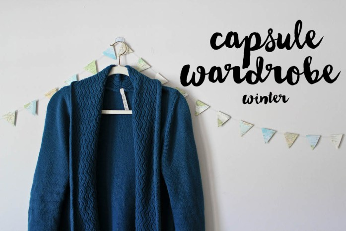 Winter Capsule Wardrobe for a Minimalist Wardrobe and Project 333