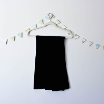 Travel Capsule Wardrobe Black Maxi Skirt