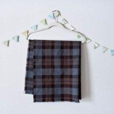 Travel Capsule Wardrobe Wool Tartan Stole