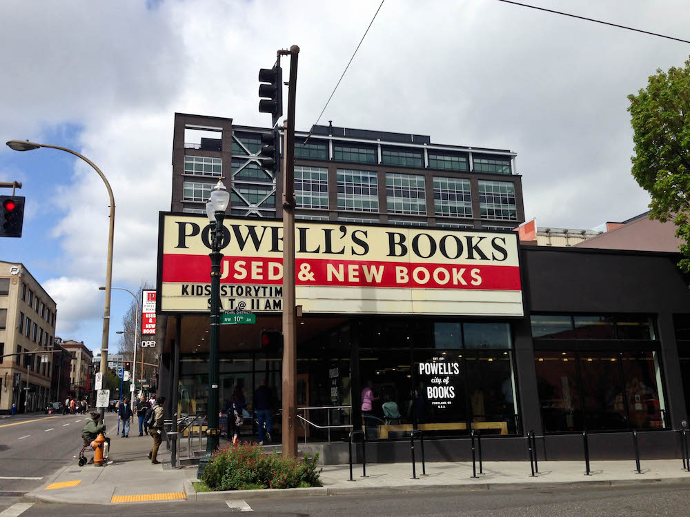 Downtown Portland Powell's