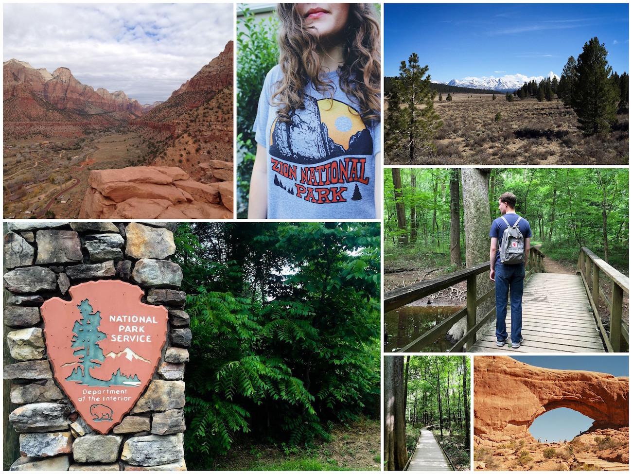 NPS Centennial Collage