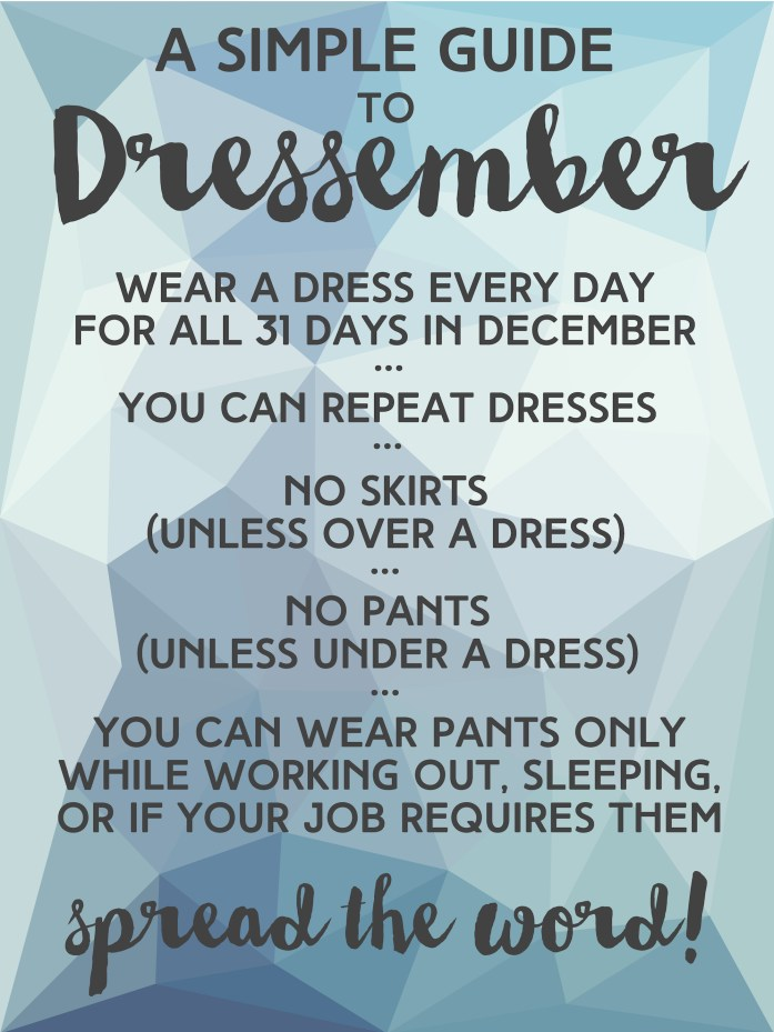 Simple Guide To Dressember