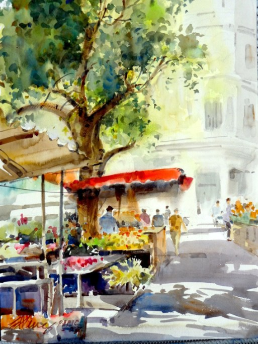 a-flower-and-fruit-market-in-paris-by-ong-kim-seng