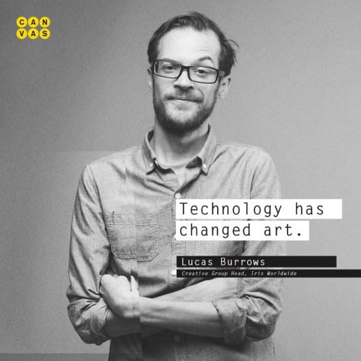 Lucas Burrows, Creative Group Head (Iris Worldwide)