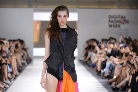 Jourdan modeling for Pauline Ning
