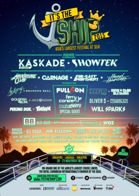 ITS2015 full line up poster