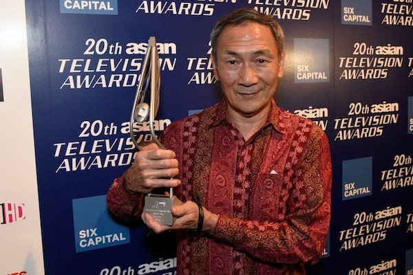 Lim Kay Tong won Best Actor in a Supporting Role at the 20th Asian Television Awards (2)