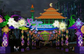 Photo 1 - Hari Raya Light Up Main Arc
