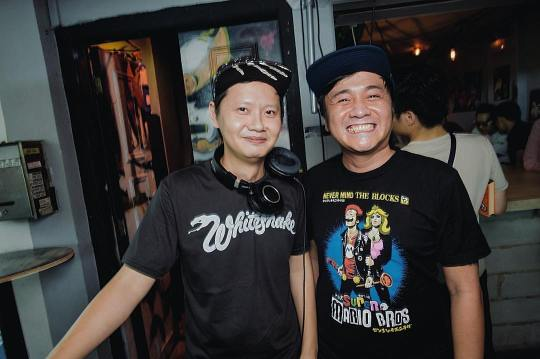DJs KiDG (left) and weelikeme (right) Photo: EATMEPOPTART